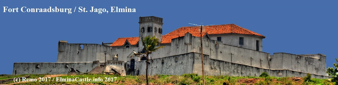 Picture, Fort St Jago, Fort Conraadsburg, Elmina, Ghana, Front View of the castle, Fort at Elmina Castle, Gold Coast